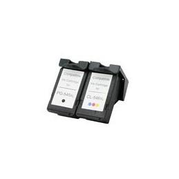 compatible Set 2x inkt cartridge voor Canon PG545xL+CL546xL van Huismerk