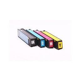 compatible Set 4x inkt cartridge voor HP 913A Pagewide Pro 352 377 452 477 van Huismerk
