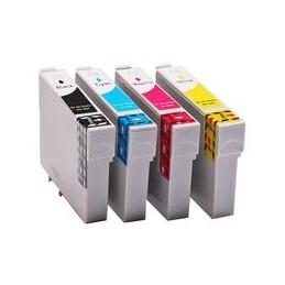 compatible Set 4x inkt cartridge voor Epson 502XL van Huismerk