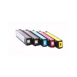compatible Set 5x inkt cartridge voor HP 913A Pagewide Pro 352 377 452 477 van Huismerk