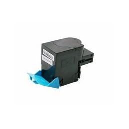 compatible Toner voor Lexmark CS417 CX417 cyan 3500 paginas van Huismerk