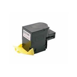 compatible Toner voor Lexmark CS417 CX417 geel 3500 paginas van Huismerk