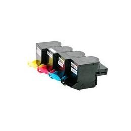 compatible Set 4x XXL Toner voor Lexmark CS417 CX417 van Huismerk