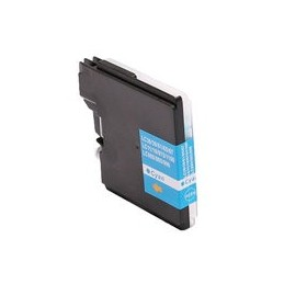 compatible inkt cartridge voor Brother LC 980 985 1100 cyan van Huismerk