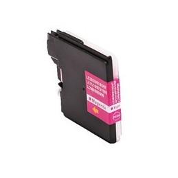compatible inkt cartridge voor Brother LC 980 985 1100 magenta van Huismerk