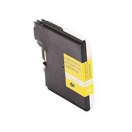 compatible inkt cartridge voor Brother LC 980 985 1100 geel van Huismerk