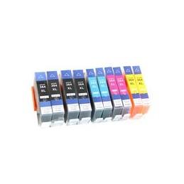 compatible Set 10x inkt cartridge voor HP 364xL van Huismerk