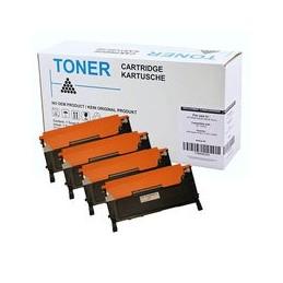 compatible Set 4x Toner voor Samsung CLT404 KCMY C430 C480 van Huismerk