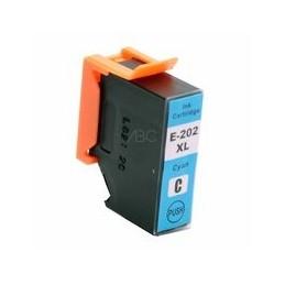 compatible inkt cartridge voor Epson 202XL cyan 650 paginas van Huismerk