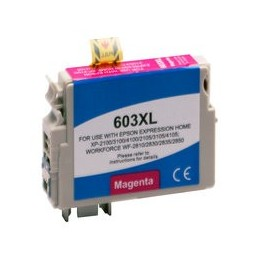 compatible inkt cartridge voor Epson 603XL magenta van Huismerk