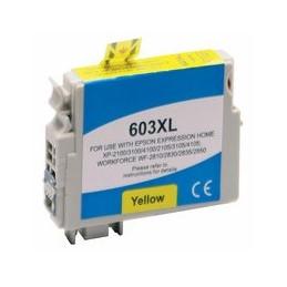 compatible inkt cartridge voor Epson 603XL geel van Huismerk
