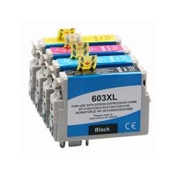 compatible Set 4x inkt cartridge voor Epson 603XL van Huismerk