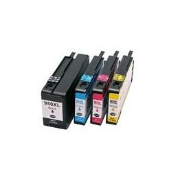 compatible Set 4x inkt cartridge voor HP 950XL-951XL van Huismerk