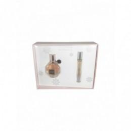 Viktor & Rolf - Flowerbomb 50ml eau de parfum + 7.5ml eau de parfum travel spray Eau de parfum-Giftset