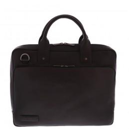 "Plevier 852-1 notebook case 39.6 cm (15.6"") Briefcase Black"
