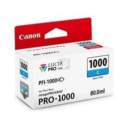 Canon PFI-1000c inkt cyan...