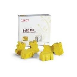 Origineel Xerox XFX Solid inkt geel voor Phaser 8860, 8860 standaard capaciteit 6 x 2.333 paginas 6