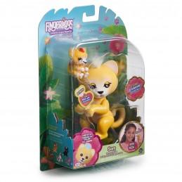 WowWee Fingerlings Light-Up Baby Leeuw en Mini - Sam en Leo - Robot Leeuw