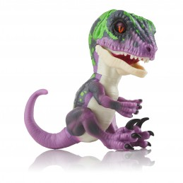 WowWee Fingerlings Untamed Dino Baby Velociraptor - Razor interactive toy