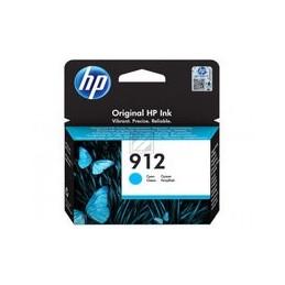 HP 912 cyan inkt cartridge