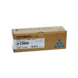Ricoh SPC360X cyan toner cartridge 9000 paginas for SPC361SFNW