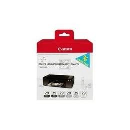 Origineel Canon PGI-29 inkt zwart en fünf kleurn standaard capaciteit multipack