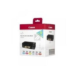 Origineel Canon PGI-29 CMY-PC-PM-R inkt kleur standaard capaciteit multipack