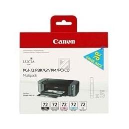 Origineel Canon PGI-72 PBK-GY-PM-PC-CO inkt zwart en kleur standaard capaciteit multipack