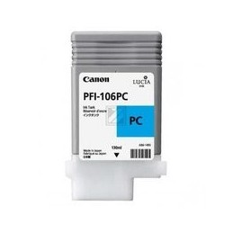 Origineel Canon PFI-106PC inkt foto cyan standaard capaciteit 130 ml 1 stuk