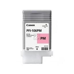 Origineel Canon PFI-106PM inkt foto magenta standaard capaciteit 130 ml 1 stuk