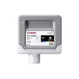 Origineel Canon PFI-306BK inkt zwart standaard capaciteit