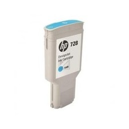 HP 728 130-ml cyan inkt...