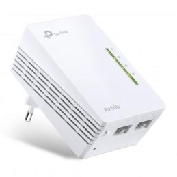TP-LINK TL-WPA4220 PowerLine-netwerkadapter 500 Mbit s Ethernet LAN Wi-Fi Wit 1 stuk(s)