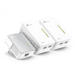 TP-LINK TL-PA4010 + 2x TL-WPA4220 500 Mbit s Ethernet LAN Wi-Fi Wit