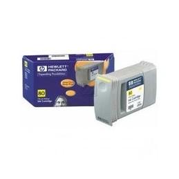 Origineel HP 80 inkt geel standaard capaciteit 175ml 1 stuk