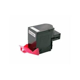 compatible Toner voor Lexmark CX510 magenta 4000 paginas van Huismerk