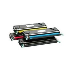 compatible Set 4x Toner voor Lexmark X746 X748 XS748 van Huismerk