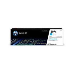 HP 207X cyan LaserJet toner cartridge