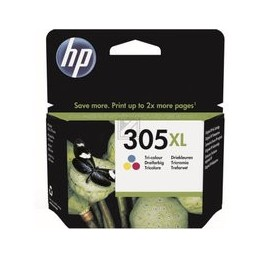 HP 305XL High Yield Tri-color Origineel inkt cartridge