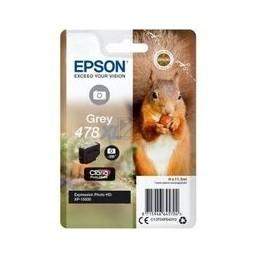 Epson Singlepack Grey 478XL Claria foto HD inkt Squirrel
