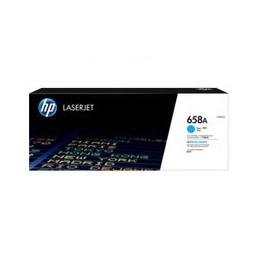 HP 658A cyan LaserJet toner...
