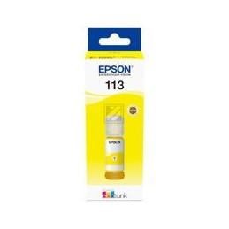 Epson 113 Ecotank pigment geel inkt bottle