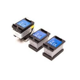 compatible inkt cartridgesadapter + 3x inkt tanks voor HP 304XL zwart van Ecosaver