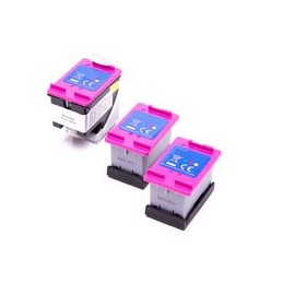 compatible inkt cartridgesadapter + 3x inkt tanks voor HP 304XL Color van Ecosaver