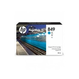 HP 849 400-ml cyan PageWide XL inkt Crtg