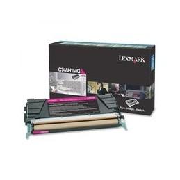 Lexmark C748 Toner magenta standaard capaciteit 10.000 paginas 1 stuk With terugkeerprogramma
