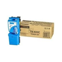 Kyocera TK-820 Toner cyan...