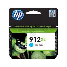 HP 912XL High Yield cyan Tinte