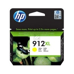 HP 912XL High Yield geel Tinte