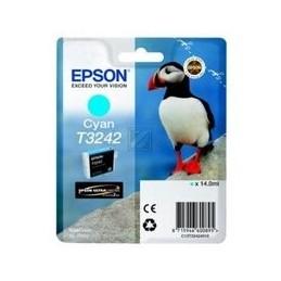 Epson T3242 cyan inkten...